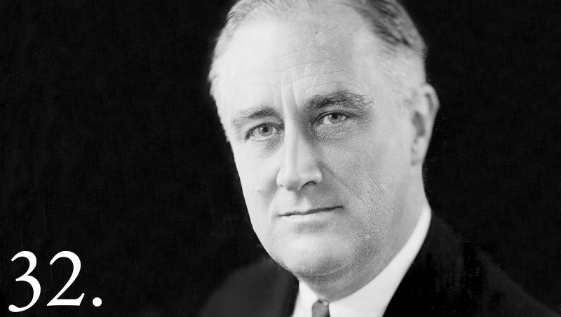 President Franklin D Roosevelt great depression