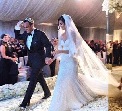 Sam Nazarian Wedding Photo