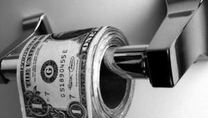 UK Businesses Wasting Cash Photo