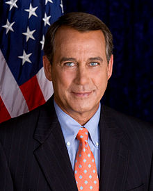 John Boehner Speaker Of The House