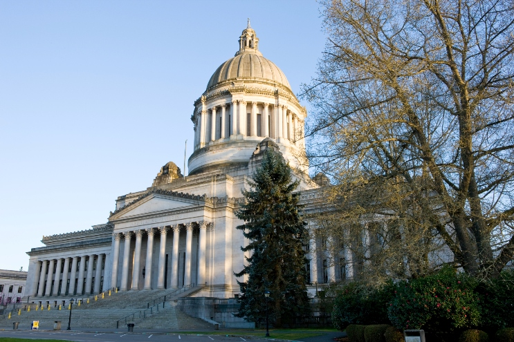 Capitol Building In Olympia Washington
