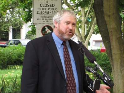 Seattle Mayor Mike McGinn