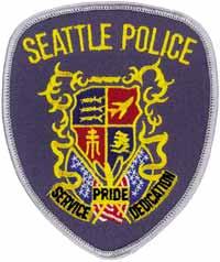 Seattle Cops Badge