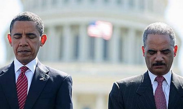 Obama and Holder Racism