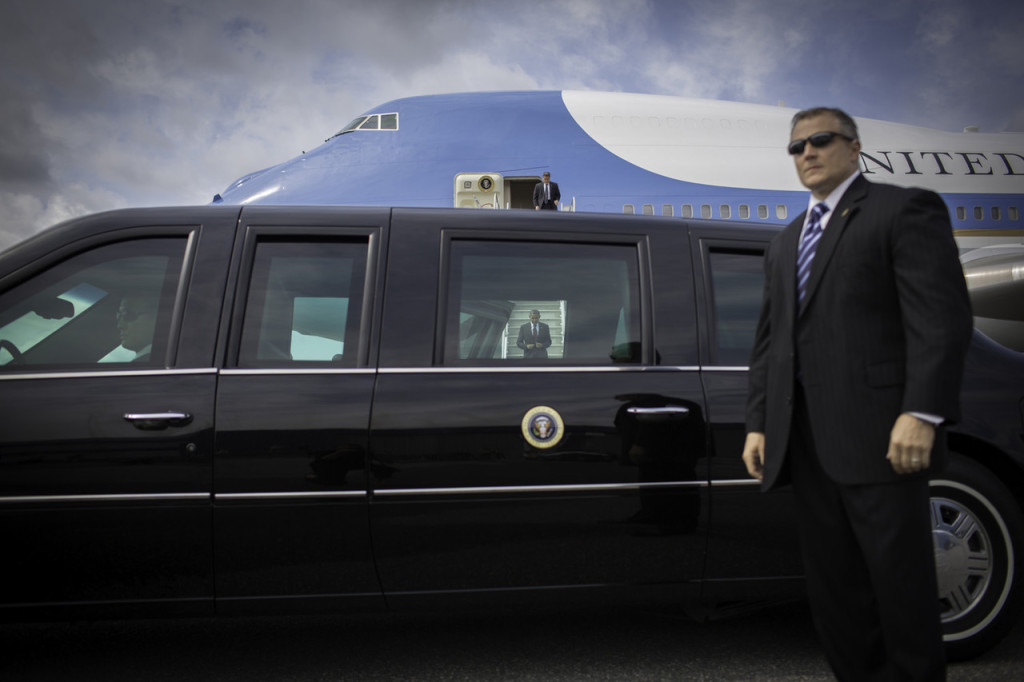 President Obama Air Force One OSO Fundraiser