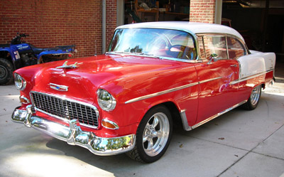 Mike A Noorzai classic car for sale. 1955 Chevy Bel Air
