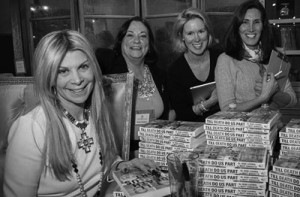 A book signing and meet and greet event where she provided insight on mid-life possibilities.