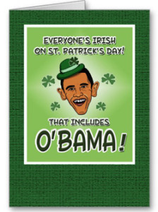 Obama Irish Photo Funny