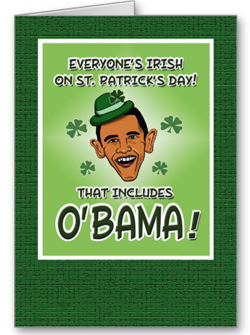 Obama Irish Photo Funny