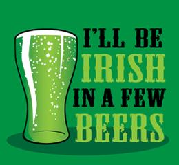 St Patrick's Funny Saying Photo