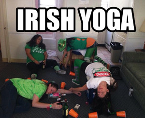 Yogo for St Paddy's Day Funny Photo