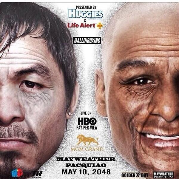 Mayweather Pacquiao Rematch Fight