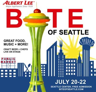 Bite of Seattle 2018 Flyer