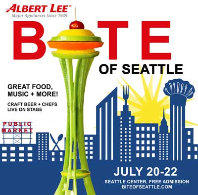 Bite of Seattle 2018 Flyer